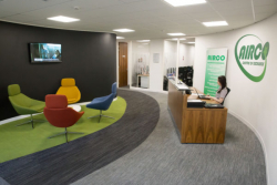 Airco Training Reception
