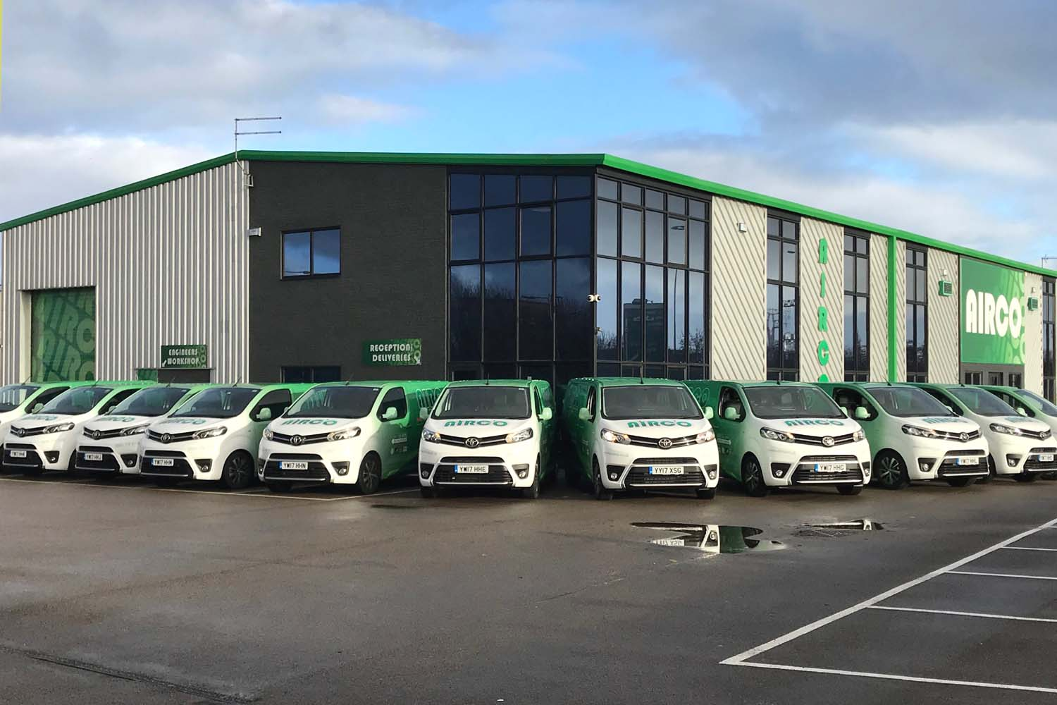 fa914153da8d Neil Fisher started Airco in 1991. Back then it was him and a van! Today  Airco is a leading multi-disciplinary building services company